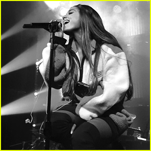Ariana Grande Performs 'Sweetener Sessions' Concert in New York City!