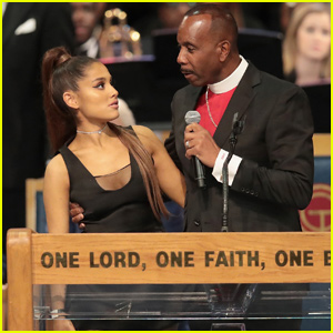 Ariana Grande Got Confused For a Taco Bell Item at Aretha Frankin's Funeral!