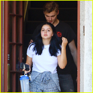 Ariel Winter & Levi Meaden Head Out Together in Studio City