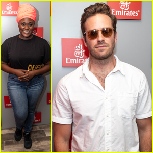 Armie Hammer Celebrates Birthday in Emirates Suite at the US Open!