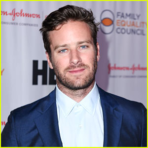 Armie Hammer Strained His Calf While Moonwalking!