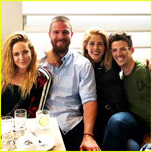 'Arrow,' 'The Flash' & 'Legends' Stars Take a Casamigos Mixology Class!