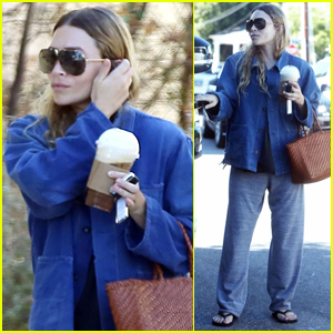 Ashley Olsen Steps Out for Coffee in Brentwood