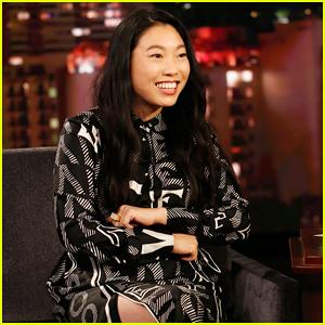 Awkwafina Explains The Origin Of Her Name on 'Jimmy Kimmel Live' - Watch Here!