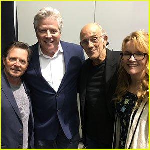 'Back To The Future' Cast Reunites at Fan Expo in Boston!