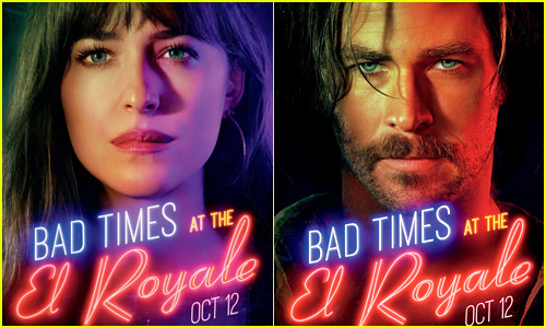 'Bad Times at the El Royale' Character Posters Highlight Dakota Johnson, Chris Hemsworth & More!
