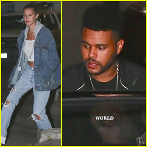 Bella Hadid & The Weeknd Step Out Dinner Date in Beverly Hills!