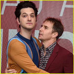 Ben Schwartz & Sam Rockwell Step Out to Promote 'Blue Iguana' in NYC