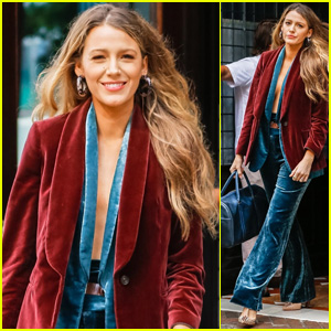 Blake Lively Heads to a Photo Shoot in NYC!