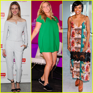 Brooklyn Decker, Amy Schumer, & Gabrielle Union Attend #BlogHer Summit in NYC!