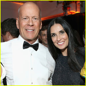 Demi Moore & Bruce Willis Reunite For Daughter Rumer's Birthday Party!