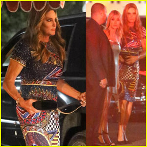 Caitlyn Jenner Steps Out For Daughter Kylie's Birthday Party!