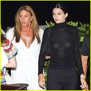 Caitlyn Jenner & Kendall Jenner Grab Sushi Together in Malibu!