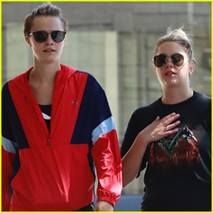 Cara Delevingne & Ashley Benson Hit the Spa in WeHo