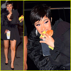 Cardi B Gets Late Night McDonald's After MTV VMAs 2018!
