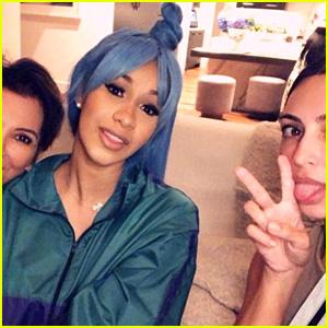 Cardi B Hangs Out With Kris Jenner & Kim Kardashian!