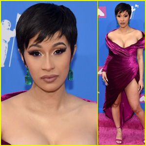 Cardi B Makes Her First Red Carpet Appearance Since Giving Birth at MTV VMAs 2018!