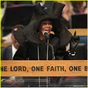 Cicely Tyson Pays Respects in Iconic Hat at Aretha Franklin's Funeral - Watch Now!
