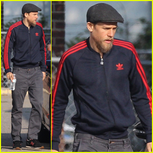 Charlie Hunnam Continues 'Jungleland' Filming in Taunton!