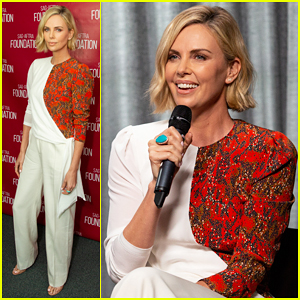 Charlize Theron Steps Out for 'Tully' SAG Foundation Screening!