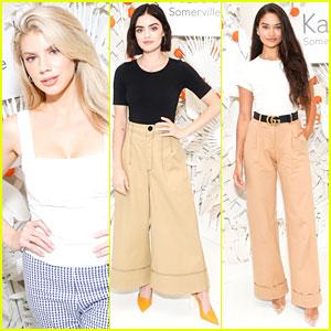 Charlotte McKinney, Lucy Hale, & Shanina Shaik Launch New Kate Somerville Skincare Product