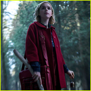 Kiernan Shipka as Sabrina in 'Chilling Adventures of Sabrina' - First Look Photos!