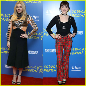 Chloe Moretz Gets Support From Maisie Williams at 'Miseducation of Cameron Post' Screening