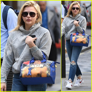 Chloe Moretz Steps Out to Go Shopping in London!