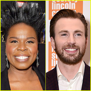 Leslie Jones Swoons Over Chris Evans as Captain America, He Responds!