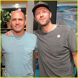 Chris Martin Celebrates Outerknown Launch of S.E.A. Jeans!