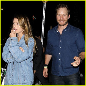 Chris Pratt & Katherine Schwarzenegger Enjoy a Friday Night Dinner Date!