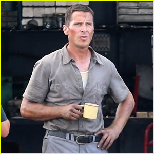Christian Bale Sports Slimmed-Down Figure in First 'Ford v. Ferrari' On-Set Photos!