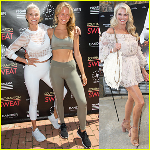 Christie Brinkley Works It Out with Daughter Sailor at Southampton Sweat!