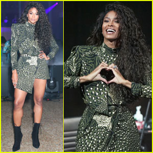 Ciara Does The 'Level Up' Challenge With Mette Towley At 'Revlon' Event - Watch Now!