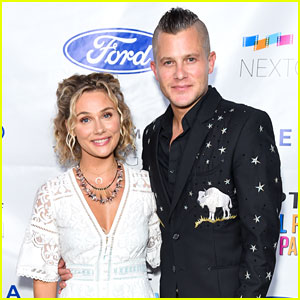 Clare Bowen & Husband Brandon Robert Young Show Off Their Eclectic Styles at MPTF's NextGen Summer Party!