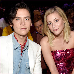 KJ Apa Photobombs 'Riverdale' Couple Cole Sprouse & Lili Reinhart at Teen Choice Awards!