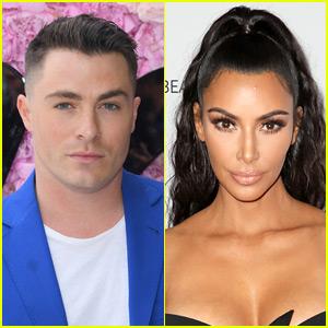 Colton Haynes Recreates Kim Kardashian's Viral Yeezy Pose!