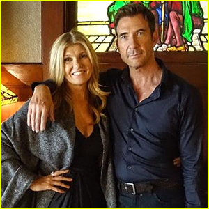 Connie Britton & Dylan McDermott Return to Murder House on 'American Horror Story: Apocalypse' Set!