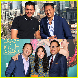 'Crazy Rich Asians' Cast Hit Chicago, Toronto & Boston for Press Tour!