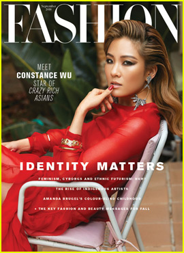 Crazy Rich Asians' Constance Wu Covers Fashion Magazine!