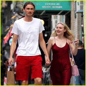 Dakota Fanning & Boyfriend Henry Frye Hold Hands on a Date in Manhattan!