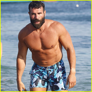 Dan Bilzerian Shows Off His Buff Bod at the Beach in Mykonos!
