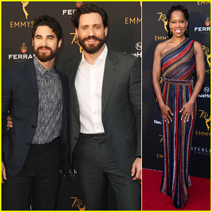 Darren Criss, Edgar Ramirez & More Hit Carpet at Emmy's Performers Peer Group Celebration!