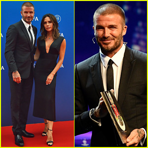 David & Victoria Beckham Make a Rare Red Carpet Appearance