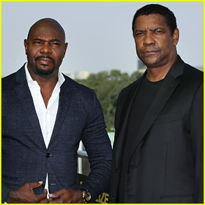 Denzel Washington & Director Antoine Fuqua Promote 'Equalizer 2'