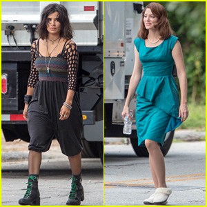 'Doom Patrol' Set Photos Surface Featuring Diane Guerrero & April Bowlby in Costume!