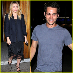 Dylan O'Brien & Chloe Moretz Hang Out at L.A. Hotspots