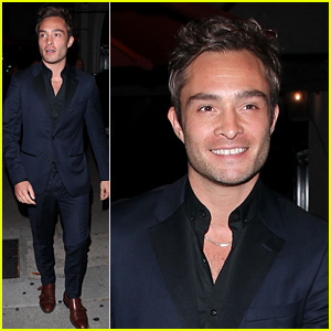 Ed Westwick Is Getting Back to Work After D.A. Rejects Sexual Assault Cases
