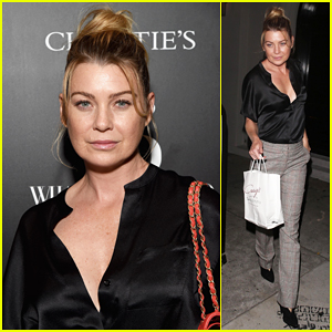 Ellen Pompeo Steps Out for What Goes Around Comes Around's 25th Anniversary!