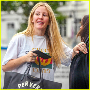 Ellie Goulding Makes First Appearance Since Announcing Engagement